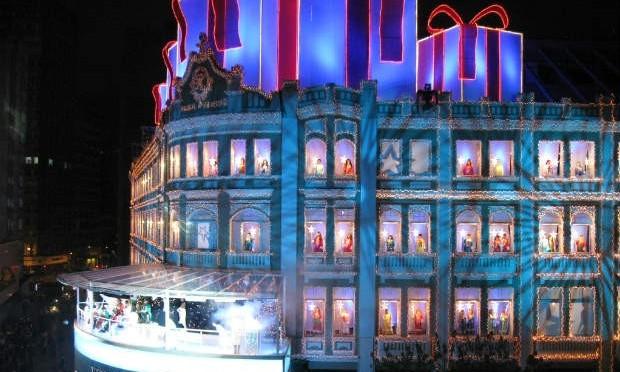 Natal no Palácio Avenida em Curitiba